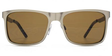 Ben Sherman 26BEN028 Gun Brown Rectangle Sunglasses