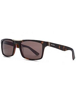 26BENP001 Tort Rectangle Sunglasses