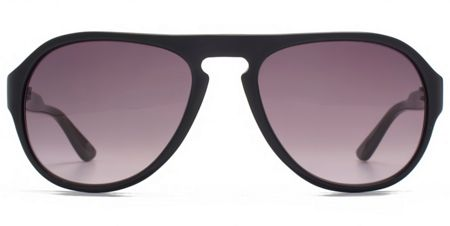 Ben Sherman 26BENP003 Black Navy Aviator Sunglasses