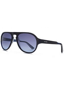 26BENP003 Navy Aviator Sunglasses