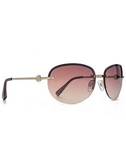 26SUU112 gold semi-rimless