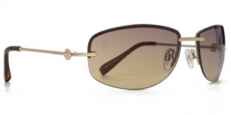 Suuna 26SUU119 gold semi-rimless