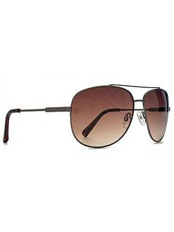 26SUU096 Gunmetal soft aviator