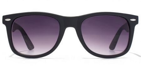 American Freshman 26AFS003 Matt Black Square Sunglasses