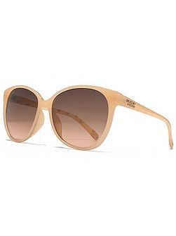 26AFS011 Milky Coral Cateye Sunglasses