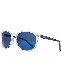26AFS015 Clear Square Sunglasses