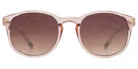 American Freshman 26AFS016 Crystal Pink Square Sunglasses