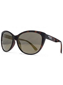 26AFS018 Dark Demi Cateye Sunglasses