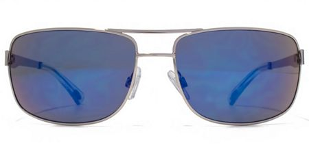 American Freshman 26AFS029 Light Gun Aviator Sunglasses