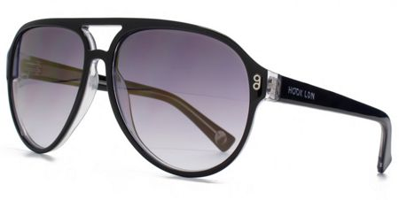 Hook LDN 26HK008- BLK Cateye Sunglasses