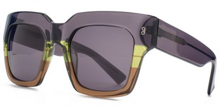 Hook LDN 26HK009- DGRY Square Sunglasses