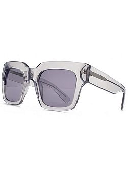 26HK009- GRY Square Sunglasses