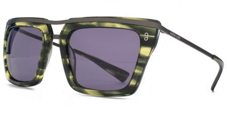 Hook LDN 26HK011- GRN Square Sunglasses