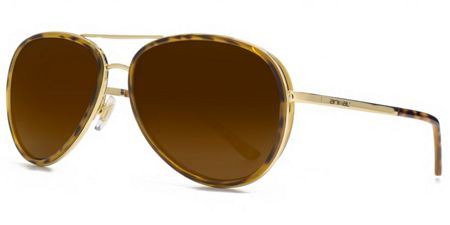 Animal 26ANI036 Gold Aviator Sunglasses