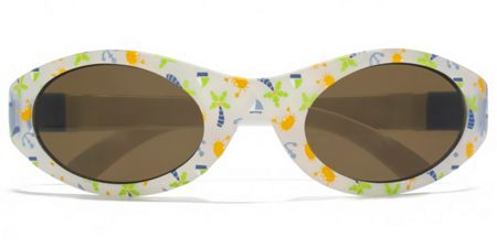 Monkey Monkey 26MNK223 White Wrap Sunglasses