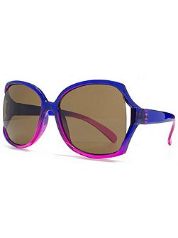 26MNK220 Purple Pink Square Sunglasses