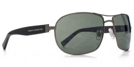 French Connection FC Man FCU620 Gun large metal aviator