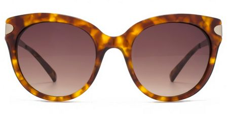 French Connection Premium 26FCA015 brown tort round sunglasses