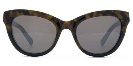 French Connection Premium 26FCA020 brown tort cateye sunglasses
