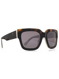 Premium 26FCA026 brown tort rectangle sunglasses