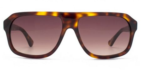 French Connection Premium 26FCA030 brown tort aviator sunglasses
