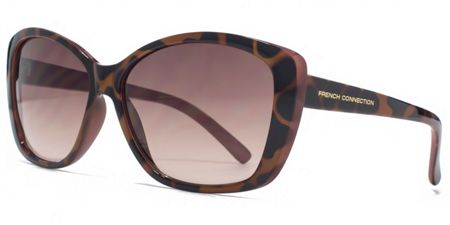 French Connection 26FCU652 Tort Cateye Sunglasses