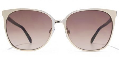 French Connection 26FCU657 Light Gold Square Sunglasses