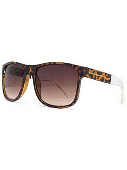 26FCU647 Dark Demi Rectangle Sunglasses