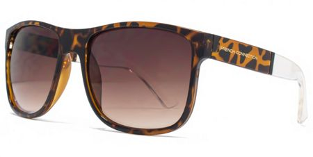 French Connection 26FCU647 Dark Demi Rectangle Sunglasses