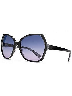 26FCA035 Black Tort Glam Sunglasses