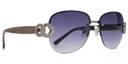 Carvela 26CAR024 Gunmetal semi-rimless