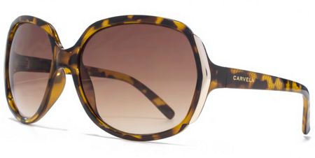 Carvela 26CAR033 Brown Tort Square Sunglasses