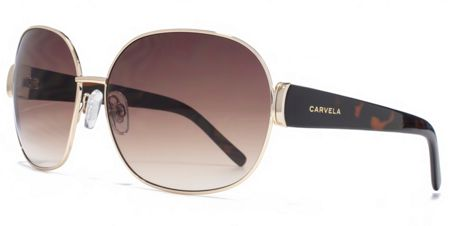 Carvela 26CAR037 Gold Round Sunglasses