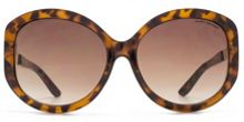 Kurt Geiger 26KGL034 Brown Tort Round Sunglasses