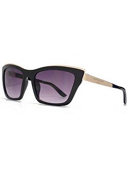26KGL036 Black Cateye Sunglasses