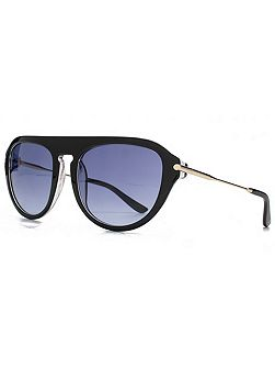 26KGP001 Black Square Sunglasses