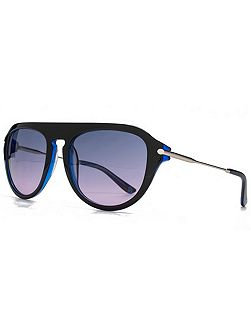 26KGP001 Blue Square Sunglasses