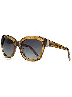 26KGP002 Brown Square Sunglasses