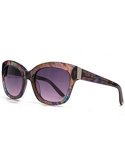 26KGP002 Purple Square Sunglasses