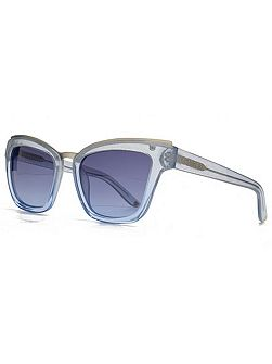 26KGP003 Blue Cateye Sunglasses