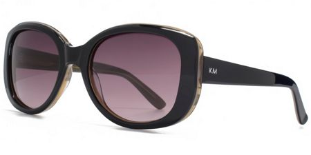 Karen Millen 26KMP001 Black Glam Sunglasses