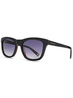26KMP002 Black Rectangle Sunglasses