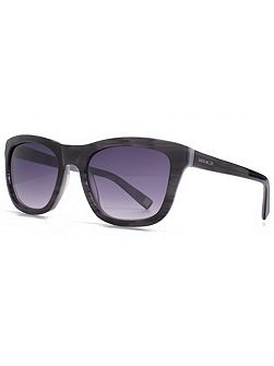 26KMP002 Grey Rectangle Sunglasses