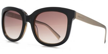 Karen Millen 26KMP004 Black Square Sunglasses