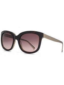 26KMP004 Dark Tort Square Sunglasses