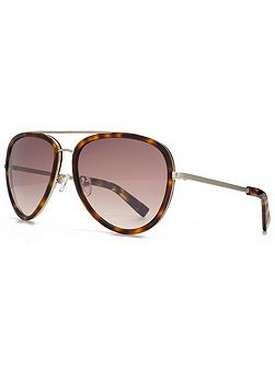 26KMP005 Tort Aviator Sunglasses