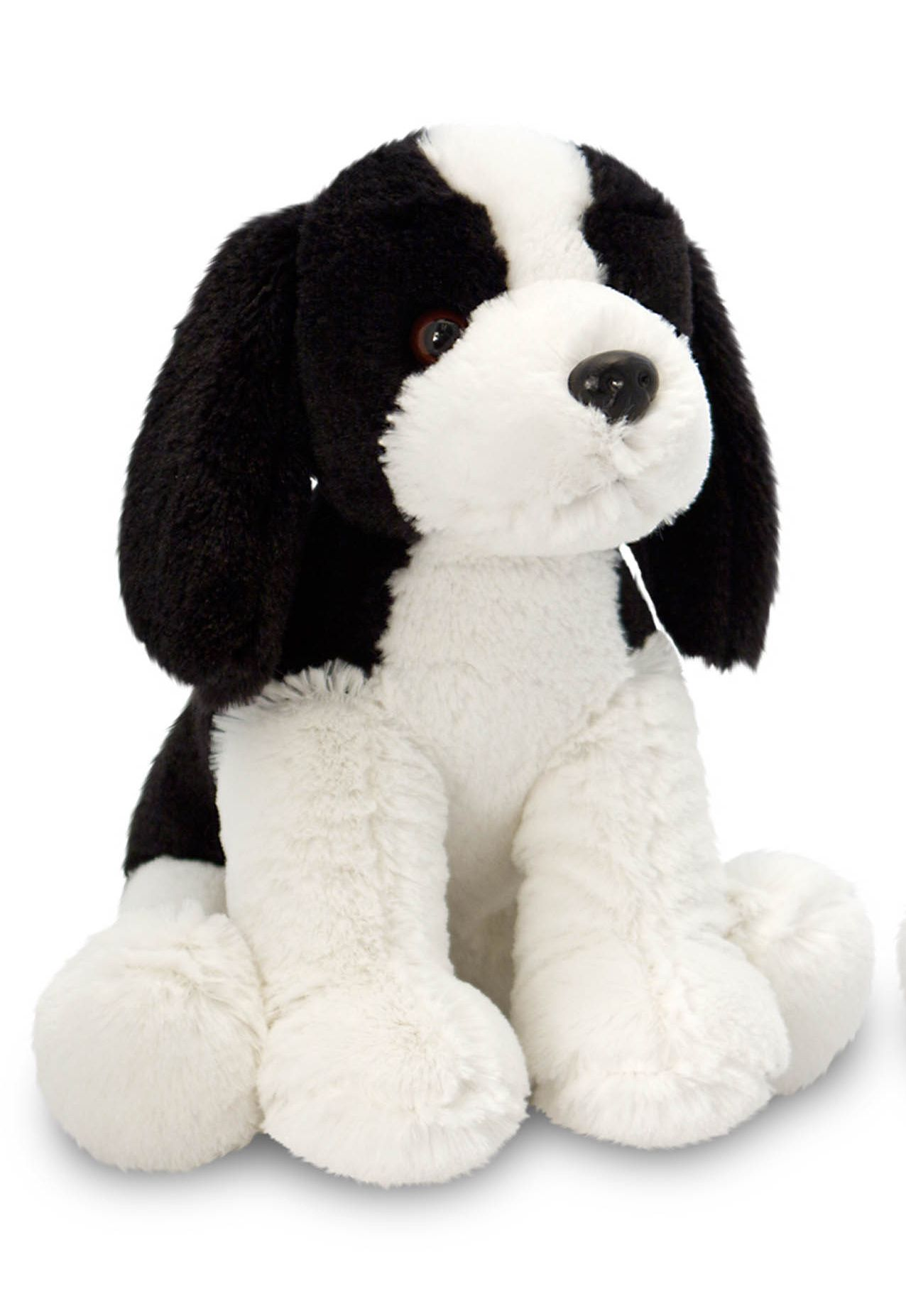 Keel 23cm Spaniel Black & White Dog
