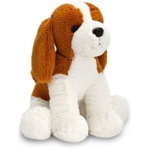 Keel 36cm Brown & White Spaniel Dog