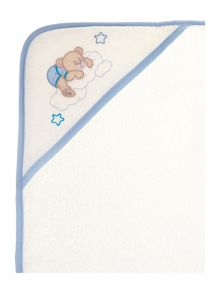 Elainer Home Living Baby boys teddy hooded towel 75 x 75