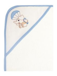 Elainer Home Living Baby boys elephant hooded towel 75 x 75